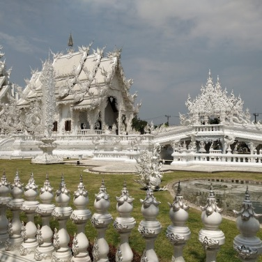 White Temple in all its glory